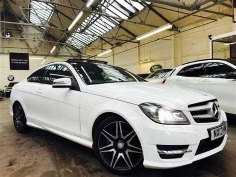 C 250 coupe 2d coupe drivetrain : 2013 Mercedes-Benz C Class 2.1 C250 CDI AMG Sport Coupe 2dr Diesel | in New Basford ...