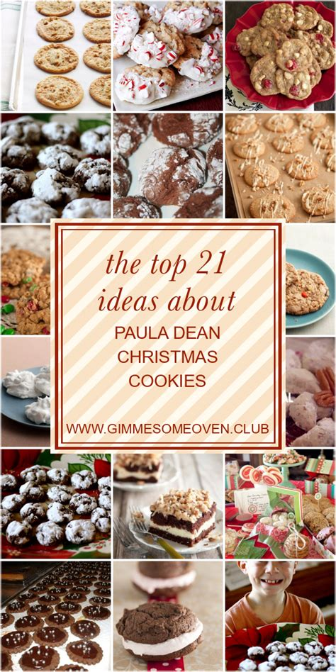 Recipes and stories from my favorite holiday by paula. The top 21 Ideas About Paula Dean Christmas Cookies - Best ...