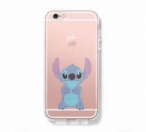 LILO & STITCH iPhone 6 Case iPhone 6s Plus Case Galaxy S6 Edge Clear Hard Case C137 iPhone 6