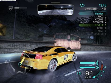 need for speed pc need for speed carbon free speed new