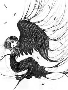 Dark Fairies and Angels Drawing