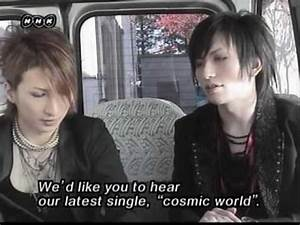 New Year Comment - Tora and Saga (alice nine.) - YouTube