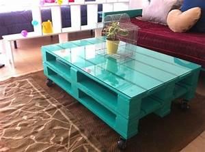 Fabriquer Une Table Basse En Palette : table basse palette top 69 des id es les plus originales en 2017 ~ Melissatoandfro.com Idées de Décoration
