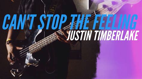 Can't Stop The Feeling [bass Cover Hd