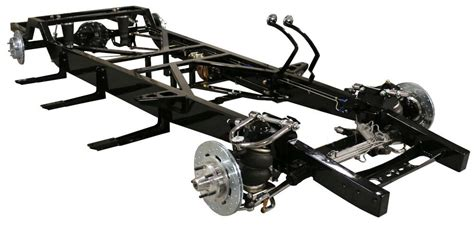 tci lowrider   ford   pickup air ride chassis