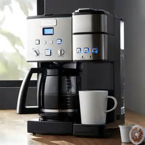Cuisinart ® Combination K cup/Carafe Coffee Maker   Crate and Barrel