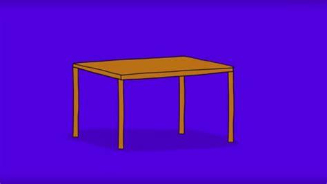 dessiner une chaise comment dessiner une table