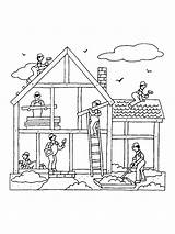 Coloring Pages Bing Construction Site Printable Sheets sketch template