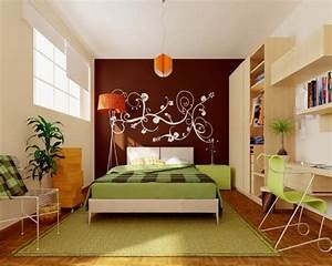 how to decorate a wall lots of ideas between stencil and With how to decorate bedroom walls