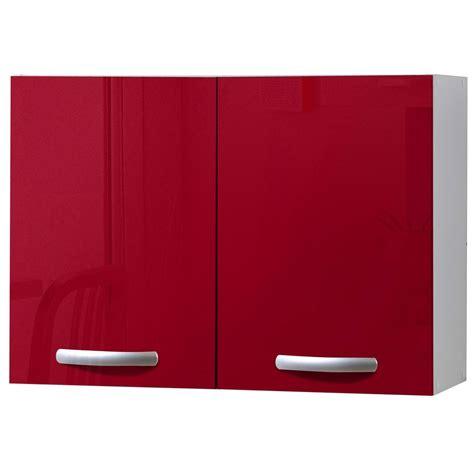 meuble haut cuisine leroy merlin meuble de cuisine haut 2 portes brillant h57x l80x