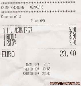 Rechnung Was Muss Drauf : ein zettel mit keine rechnung statt rechnung von restaurant bekommen deutsch ~ Themetempest.com Abrechnung