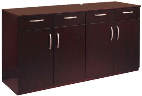 Large Buffet Credenza Cabinet, Conference Credenza