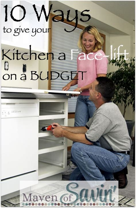 10 Ways To Give Your Kitchen A Facelift On A Budget You