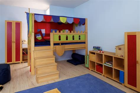 Kinderzimmer Mädchen Burg by Debe Deluxe Room Bed In Many Colors