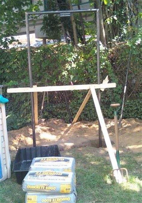 How To Build A Bar In Your Backyard by Building A Backyard Pull Up Bar Al Kavadlo