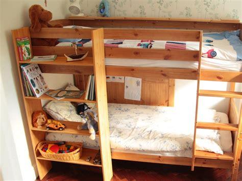 clip  bunk bed shelf bamboo furniture