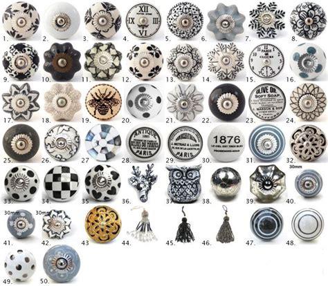 pomelli design cool manopole vintage ceramica armadietto porta grigio