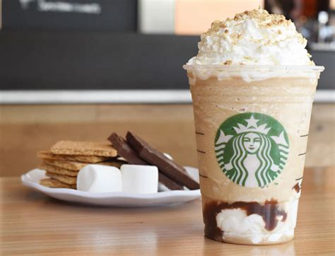 Fluffy melt in your mouth goodness! Starbucks S'mores Frappuccino Returns