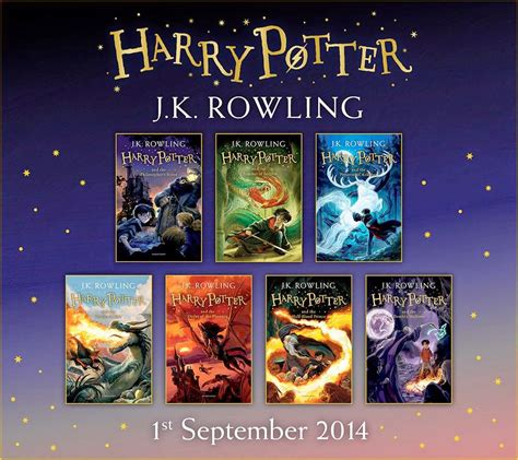 New Children's Edition Harry Potter Books Available Now