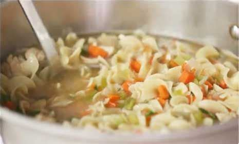 how to make chicken noodle soup in the better homes