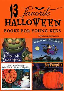 13 Favorite Halloween books for kids - My Mommy Style