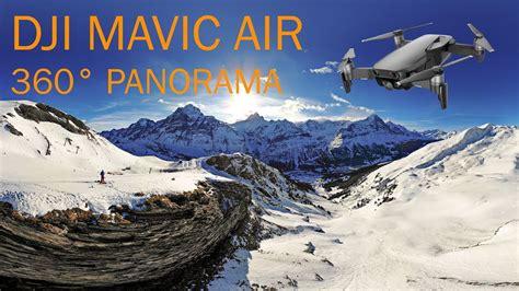 dji mavic air   panorama  xml import youtube