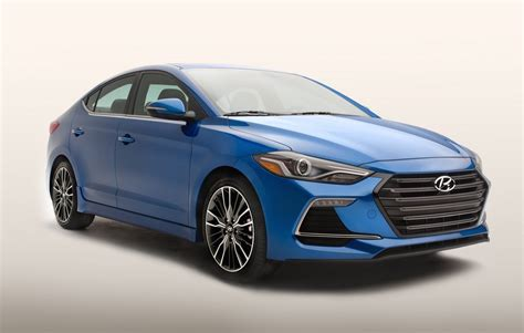 2017 Hyundai Elantra Sport Turbo Announced For Us Market