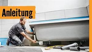 Badewanne Einbauen Anleitung : badewanne einbauen auf wannenf en hornbach meisterschmiede youtube ~ Markanthonyermac.com Haus und Dekorationen
