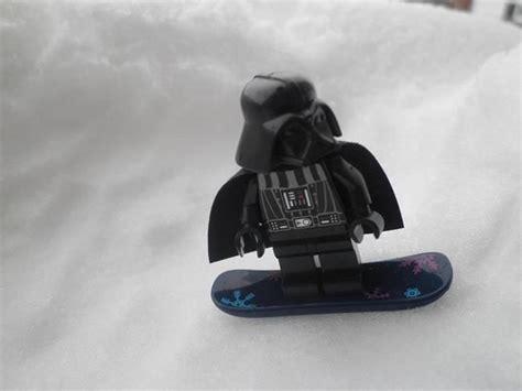LEGO Star Wars Darth Vader Minifig on Snowboard   Lego ...