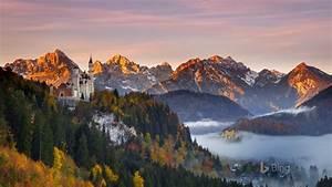 germany, neuschwanstein, castle, 2018, bing, wallpaper, preview