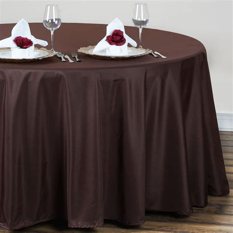 wedding table cloth runners 10 pcs 120 quot round polyester tablecloths wedding linens