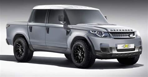land rover defender pickup truck concept cars group