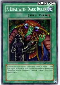 inMint.com - Yugioh Common Card Singles: A Deal with Dark ...