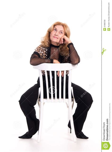 elderly at chair royalty free stock photos image