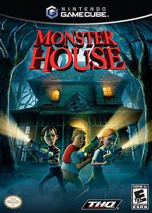Monster House Gamecube Game