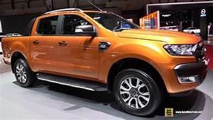 Ford Ranger Interieur : 2016 ford ranger wildtrack exterior and interior walkaround 2016 geneva motor show youtube ~ Medecine-chirurgie-esthetiques.com Avis de Voitures