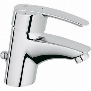 Mitigeur Grohe Lavabo : mitigeur lavabo chrom grohe start leroy merlin ~ Dallasstarsshop.com Idées de Décoration