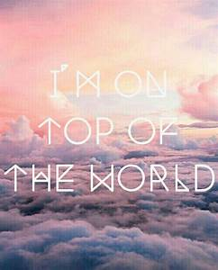 On, Top, Of, The, World, Imagine, Dragons, U2661