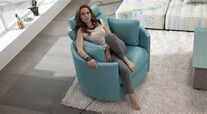 Fauteuil Relax Design Contemporain : moon fauteuil cuir relaxation manuel ou electrique personnalisable sur univers du cuir ~ Teatrodelosmanantiales.com Idées de Décoration