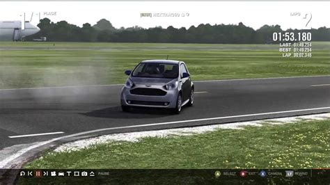 forza  aston martin cygnet top gear track youtube