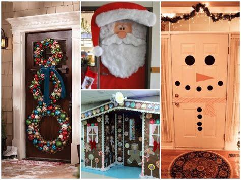 23 Holiday Door Decor Ideas