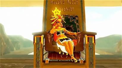 Riju Zelda Legend Breath Wild Gerudo Lady