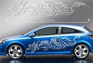 design aufkleber auto auto aufkleber drachen tribal