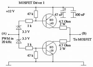 mosfet driver popular cheap all in one for analog pwm With fet high side driver circuit musicstext
