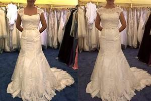 thinking about altering the neckline advice With how to alter a wedding dress