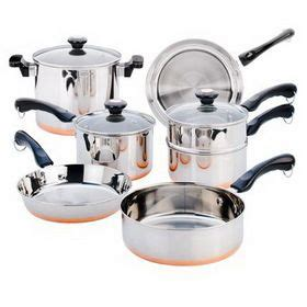revere   pc copper bottom set cookware set cookware sets revere ware