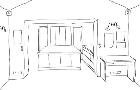 comment dessiner un canapé salon