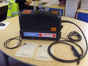 Hobart Handler Single Phase Mig Welding Machine  U0026 Gas Regulator
