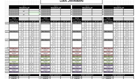 Personal Trainer Templates Free by Excel Personal Templates Excel Designs