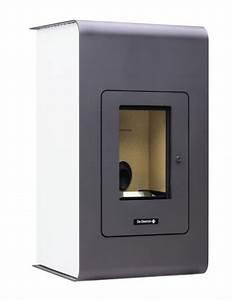 Poele A Granules Design Contemporain : po le pellet design floralis de dietrich thermique ~ Premium-room.com Idées de Décoration